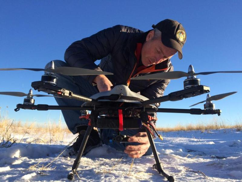 "Colorado Springs Drone Startup Gets State's ""Stamp of Approval"": a $50k Grant"