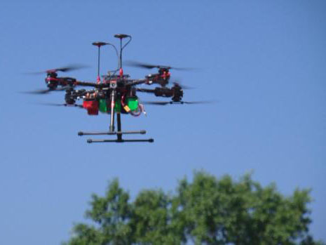 CBS Denver KCNC-TV Drones Used To Track Emerald Ash Borer