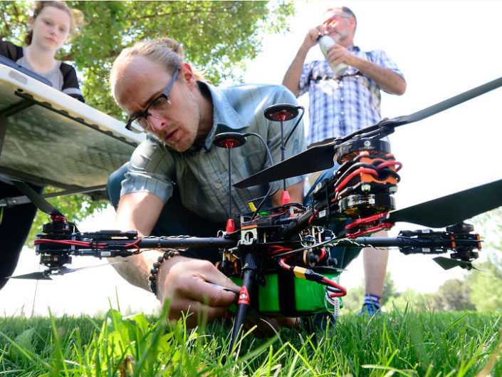 Drones Deployed to Detect Emerald Ash Borer