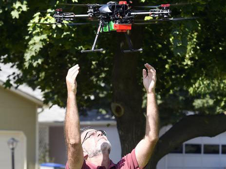 Drone Flights May Detect Longmont Emerald Ash Borer Infestation